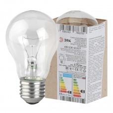 Лампа накаливания ЭРА Е27 40W прозрачная A50 40-230-Е27