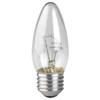 Лампа накаливания ЭРА E27 40W 2700K прозрачная ЛОН ДС40-230-E27-CL