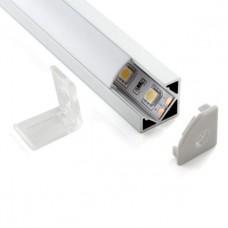 Профиль угловой алюминиевый Elektrostandard LL-2-ALP004 4690389104206