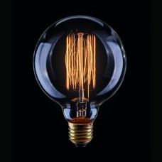 Лампа накаливания Voltega E27 40W шар прозрачный VG6-G95A1-40W 5922