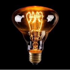 Лампа накаливания Voltega E27 40W груша прозрачная VG6-BR30A3-40W 6498