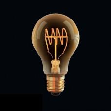 Лампа светодиодная Voltega E27 4W 2800К груша прозрачная VG10-A60GE27warm4W-FB  7078