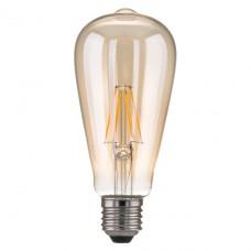 Лампа светодиодная Elektrostandard E27 6W 3300K груша прозрачная 4690389100994