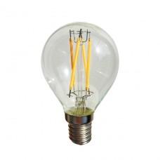 Лампа светодиодная Sun Lumen E14 4W шар прозрачный 056-885
