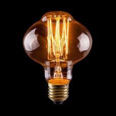 Лампа накаливания Voltega E27 40W груша прозрачная VG6-L85A1-40W 6486