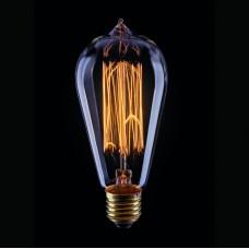 Лампа накаливания Voltega E27 60W колба прозрачная VG6-ST64A1-60W 5919