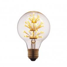 Лампа светодиодная Loft IT E27 3W шар прозрачный G8047LED