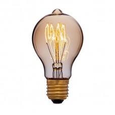 Лампа накаливания Sun Lumen E27 40W груша золотая 051-866
