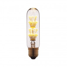Лампа светодиодная Loft IT E27 2W цилиндр прозрачный T1030LED