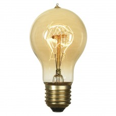 Лампа накаливания Lussole LOFT E27 60W 2700K колба прозрачная GF-E-719