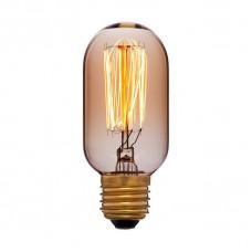 Лампа накаливания Sun Lumen E27 40W колба золотая 051-934