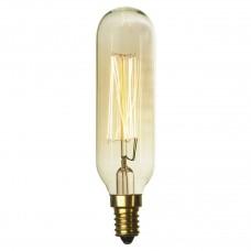 Лампа накаливания Lussole LOFT Е14 40W 2700K цилиндр прозрачный GF-E-46