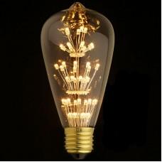 Лампа светодиодная Loft IT E27 3W колба прозрачная ST64-47LED