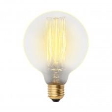 Лампа накаливания Uniel (UL-00000478) E27 60W шар золотистый IL-V-G80-60/GOLDEN/E27 VW01