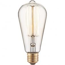 Лампа накаливания Elektrostandard диммируемая E27 60W груша прозрачная 4690389082153