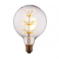 Лампа светодиодная Loft IT E27 3W шар прозрачный G12547LED
