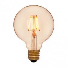 Лампа светодиодная Sun Lumen E27 4W шар золотой 056-779a