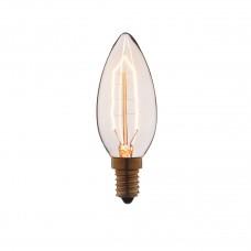 Лампа накаливания Loft IT E14 40W свеча прозрачная 3540-G
