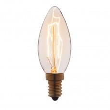 Лампа накаливания Loft IT E14 25W свеча прозрачная 3525