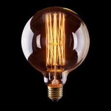 Лампа накаливания Voltega E27 60W шар прозрачный VG6-G125A1-60W 6495