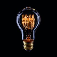Лампа накаливания Voltega E27 60W груша прозрачная VG6-A19A3-60W 5929