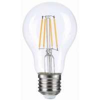 Лампа светодиодная Voltega E27 7W 2800K прозрачная VG10-A60E27warm7W-F 7140