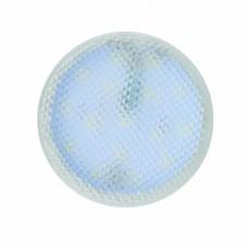 Лампа светодиодная (UL-00006500) Uniel GX53 7W 3000K призма LED-GX53-7W/3000K+3000K/GX53/PR PLB02WH