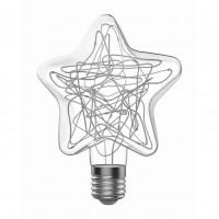 Лампа светодиодная Gauss Vintage Star E27 2W RGB 160802008