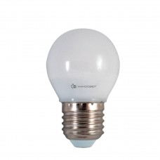 Лампа светодиодная Наносвет E27 6,5W 2700K шар матовый LE-P45-6.5/E27/827 L132
