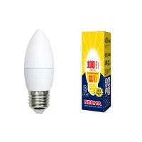 Лампа светодиодная Volpe (UL-00003815) E27 11W 3000K матовая LED-C37-11W/WW/E27/FR/NR