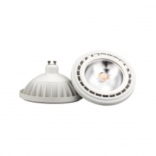 Лампа светодиодная Nowodvorski GU10 15W 4000K прозрачная 9831