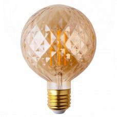 Лампа светодиодная Elektrostandard E27 4W 2700K золотистая 4690389136214