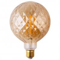 Лампа светодиодная Elektrostandard E27 8W 2700K золотистая 4690389136184