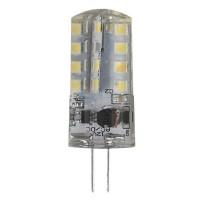 Лампа светодиодная ЭРА G4 3W 4000K прозрачная LED JC-3W-12V-840-G4