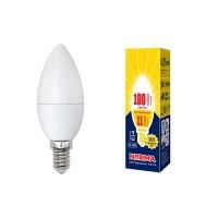 Лампа светодиодная Volpe (UL-00003812) E14 11W 3000K матовая LED-C37-11W/WW/E14/FR/NR