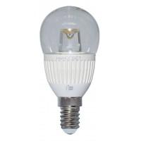 Лампа светодиодная Наносвет E14 5W 2700K шар прозрачный LC-P45CL-5/E14/827 L142
