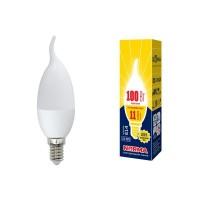 Лампа светодиодная Volpe (UL-00003817) E14 11W 3000K матовая LED-CW37-11W/WW/E14/FR/NR