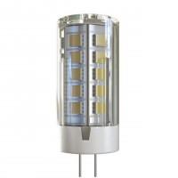 Лампа светодиодная Voltega G4 4W 4000К кукуруза прозрачная VG9-K1G4cold4W-12 7031