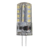 Лампа светодиодная ЭРА G4 3W 2700K прозрачная LED JC-3W-12V-827-G4