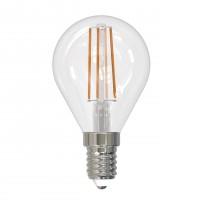 Лампа светодиодная Uniel (UL-00005173) E14 9W 4000K прозрачная LED-G45-9W/4000K/E14/CL PLS02WH
