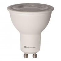 Лампа светодиодная Наносвет GU10 8,5W 2700K полусфера прозрачная LH-MR16-8.5/GU10/827/38D L286