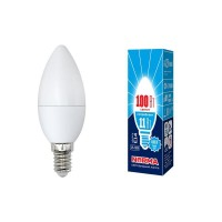 Лампа светодиодная Volpe (UL-00003811) E14 11W 4000K матовая LED-C37-11W/NW/E14/FR/NR