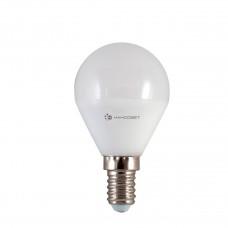 Лампа светодиодная Наносвет E14 6,5W 2700K шар матовый LE-P45-6.5/E14/827 L128
