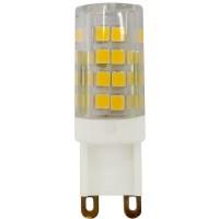 Лампа светодиодная ЭРА G9 5W 4000K прозрачная LED JCD-5W-CER-840-G9