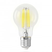 Лампа светодиодная Voltega E27 7W 4000K прозрачная VG10-A60E27cold7W-F 7141