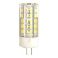 Лампа светодиодная Elektrostandard G4 5W 4200K кукуруза прозрачная 4690389093661