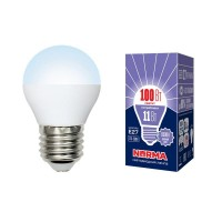 Лампа светодиодная Volpe (UL-00003833) E27 11W 6500K матовая LED-G45-11W/DW/E27/FR/NR
