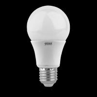 Лампа светодиодная Gauss E27 10W 2700K груша матовая 23210