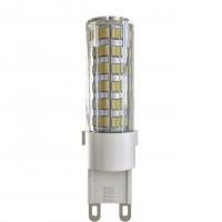 Лампа светодиодная Voltega G9 6W 4000К кукуруза прозрачная VG9-K1G9cold6W 7035