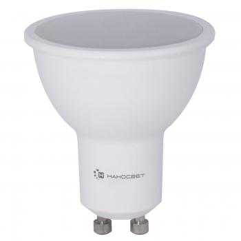 Лампа светодиодная GU10 8W 2700K полусфера матовая LE-MR16A-8/GU10/827 L188 (Россия)